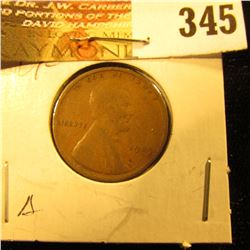 1909 P Lincoln Cent. VF.