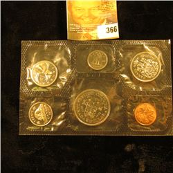 1871-1971 Canada Mint Set in original cellophane. (6 pcs.).