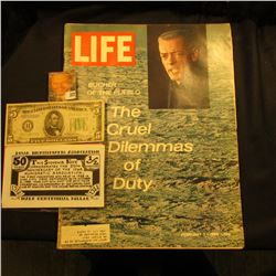 "Feb. 7, 1969 ""LIFE"" Magazine (article Butcher of the Pueblo The Cruel Dilemmas of Duty); Series 1934"