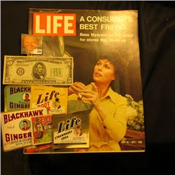"July 16, 1971 ""LIFE"" (article ""A Consumer's Best Friend Bess Myerson on the prowl for stores that ch"