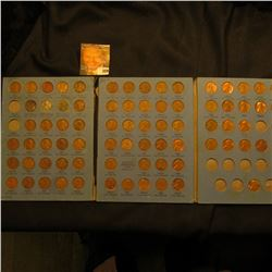 1941-72 Partial Lincoln Cent Set in a blue Whitman folder. (77 pcs.).