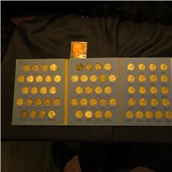 1939-61 Partial Set of Jefferson Nickels in a blue Whitman folder. Includes lots of coins including