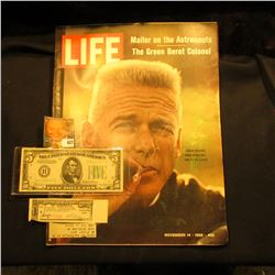 "November 14, 1969 ""LIFE"" with articles ""Mailer on the Astronauts"" & ""The Green Beret Colonel""; Serie"