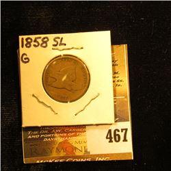 1858 LL Flqing Eagle Cent. G.