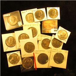1966 P, 71 D, 74 P, D, 76 D, 78 P, 80 D, 83 P, D, 85 D, 86 D, 88 D, 89 D, 90 P, & D BU to Gem BU Ken