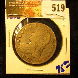 1833 Bust Half Dollar