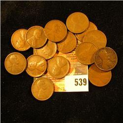 15 1909 Wheat Pennies