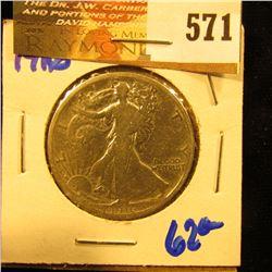 1916 P Walking Liberty Half Dollar