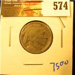 1917-S Semi Key Date Buffalo Nickel With Full Date