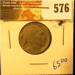 1914-S Key Date Buffalo Nickel With Full Date