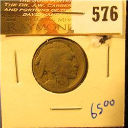 1914-S Key Date Buffalo Nickel With Full Date
