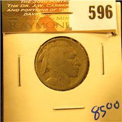1915-D Key Date Buffalo Nickel