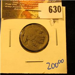 Key Date 1921-S Buffalo Nickel With Full Date