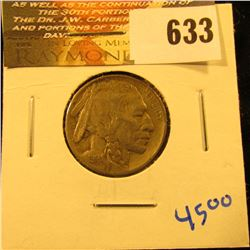 1914 P Buffalo Nickel With Full Horn