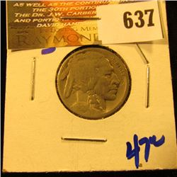 1921-S Key Date Buffalo Nickel