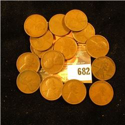 15 1909 Wheat Pennies