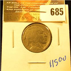 1915-S Key Date Buffalo Nickel