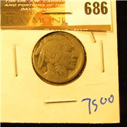 1913-S Type 1 Buffalo Nickel
