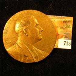 Gigantic Bronze Franklin Delano Roosevelt