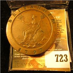 1797 British Cartwheel