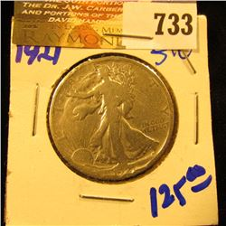 Key Date 1921 Walking Liberty Half Dollar