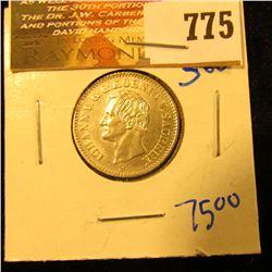 German States /Saxony 1871-B 2 Neu Groschen Coin