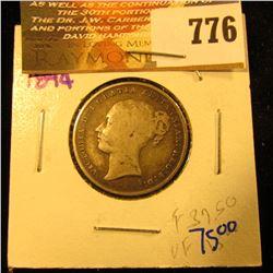 1844 British Shilling