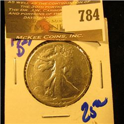 1929-D Walking Liberty Half Dollar
