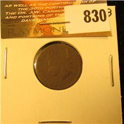 1877 U.S. Indian Head Cent. About Good.