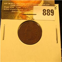 1869 U.S. Indian Head Cent. Good.