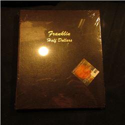 "1948-63 ""Franklin Half Dollars"" World Coin Library Dansco Coin Album. Like new."