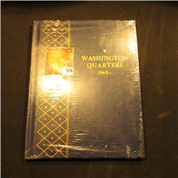 "Original Mint condition ""Washington Quarters 1965-"" Whitman album."