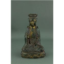 5-6th Century Chinese Fine Bronze Buddha Figure