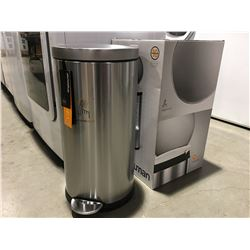 SIMPLEHUMAN 35L STAINLESS STEEL GARBAGE CAN
