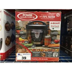 POWER PRESSURE COOKER XL 6 QUART
