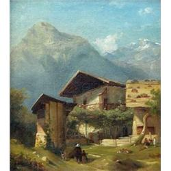 JOHANN CHRISTIAN HEERDT Frankfurt/M. 1812 - 1878 Bockenheim bei Frankfurt