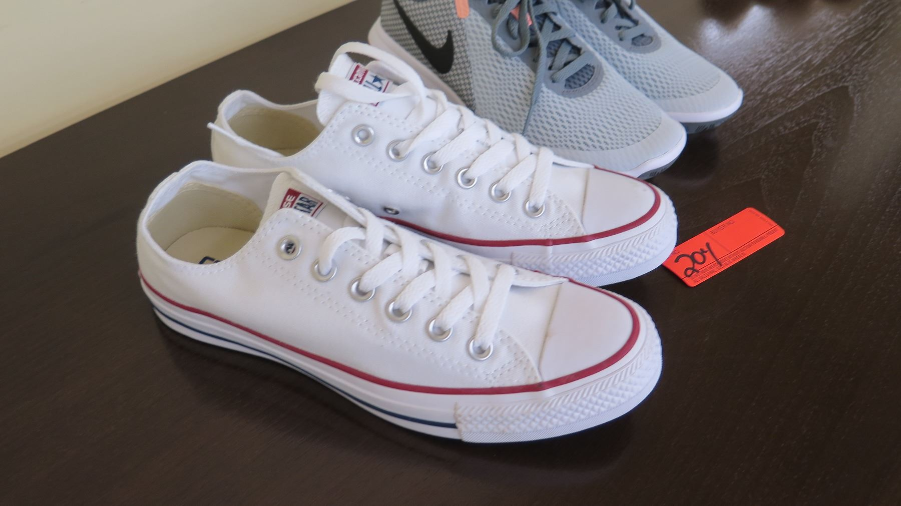 8f979e2ec2b748 ... Image 2   2 Pairs of Women s Sneakers  White Converse (size 7.5)