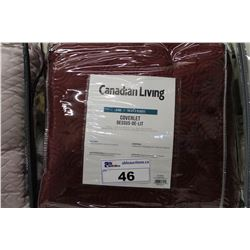 CANADIAN LIVING KING SIZE COVERLET