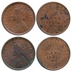British India : Victoria Empress