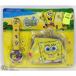 NEW KIDS WATCH AND WALLET SET
