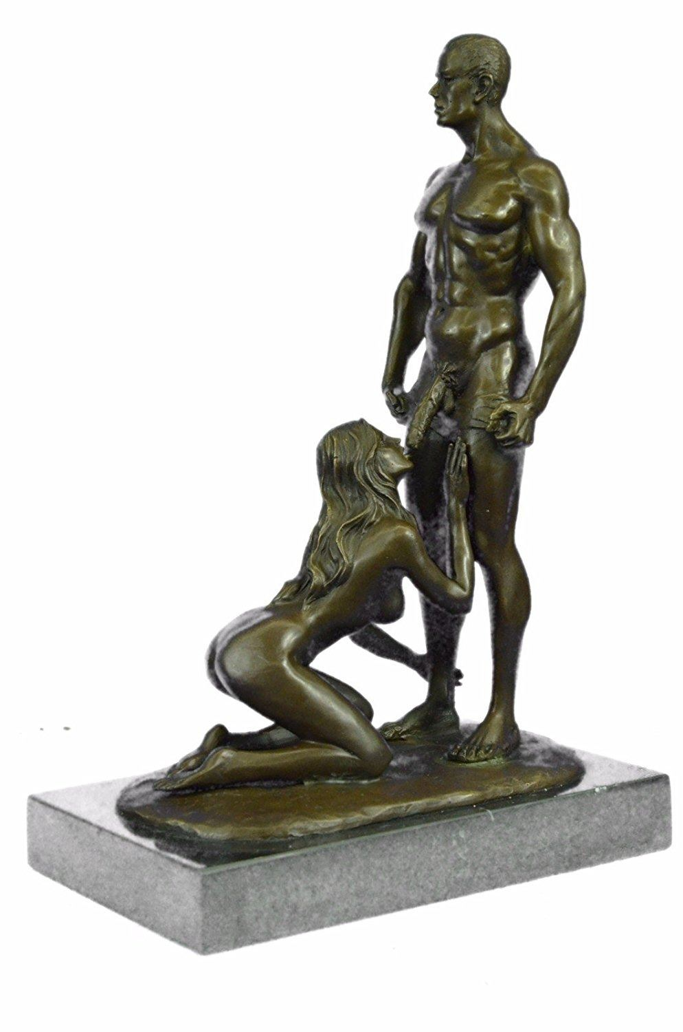 Bronze pleasure sculpture