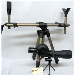SHOOTING REST & SPOTTING SCOPE