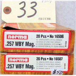 40 RNDS 257 WBY MAG