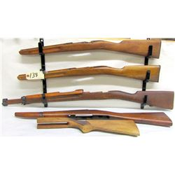 BOX LOT GUN STOCKS