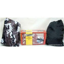 GUN BOOT BRACKET & SNOWMOBILE COVERS