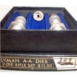 LYMAN DIE SET 308 WIN