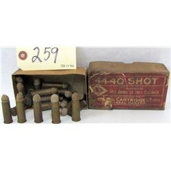 24 RNDS VINTAGE 44 - 40 SHOT