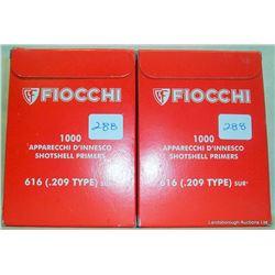 2000 FIOCCHI 209 PRIMERS