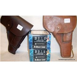 AMMO AND HOLSTERS