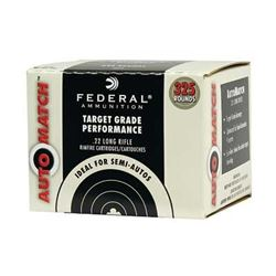 FED AUTO MTCH 22LR 40GR SLD 3250 Rounds